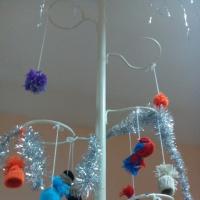 Мастер-класс по изготовлению поделок из ниток к новому году «Мастерская Деда Мороза» для детей подготовительной группы