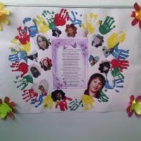 Стенгазета посвященная празднику «День мамы».