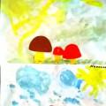 Конспект занятия по рисованию во второй младшей группе «Грибная поляна»