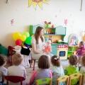 Сюжетно-ролевая игра «День рождения куклы Тани» вторая младшая группа.