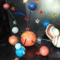 Мастер-класс «Изготовление макета Солнечной системы из пластилина»