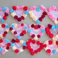 Фотоотчет «Валентинки для любимых»