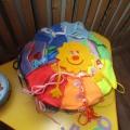 Развивающее пособие «Сенсорная подушка для малышей»