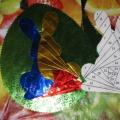 Мастер-класс по изготовлению открытки «Пасхальный кролик» в технике айрис-фолдинг