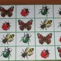 Дидактическая игра «Летние судоку» для детей старшего дошкольного возраста
