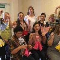 Фотоотчет о мастер-классе по куклотерапии