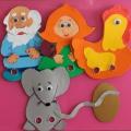 Мастер-класс для педагогов «Кукольный пальчиковый театр своими руками»