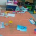 Фотоотчет о занятии по рисованию «Веточка вербы» (средняя группа)