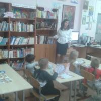 Фоторепортаж «Экскурсия в школьную библиотеку» в рамках проекта «В жаркой, желтой Африке»