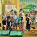 Сценарий праздника для первой младшей группы «Весенний праздник»