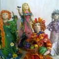 Мастер-класс. Пластилиновые куклына основе пластиковых бутылок «Времена года»