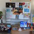 Выставка детско-родительских работ «Космос»