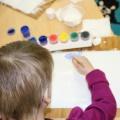 Конспект открытого занятия по нетрадиционному рисованию «Сказка про белый лист бумаги и белую краску»