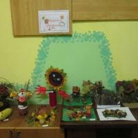 Фотоотчет о выставке детско-родительских работ «Природа и фантазия»