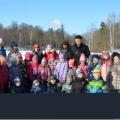 Квест «Найди подарок именинникам!» Экскурсия в лесопарк с детьми старшего дошкольного возраста.