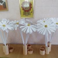 Мастер-класс по изготовлению ромашки для благотворительной акции «Белый цветок»