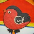 Мастер-класс: коллективная работа в смешанной технике «Мы— друзья зимующих птиц»