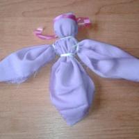 Мастер-класс по изготовлению игрушки из ткани «Ангел»