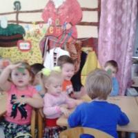 Фотоотчёт о занятии по ФЭМП во второй младшей группе «Чудесный мешочек»