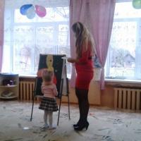 Фотоотчёт о проведённом мероприятии, посвящённому Дню матери, во второй младшей группе