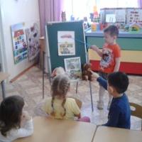 Фотоотчёт о занятии по ознакомлению детей с окружающим миром во второй младшей группе «Знакомство с профессией водителя»