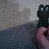 Мастер-класс по изготовлению пальчиковой игрушки из материала «Лягушка»