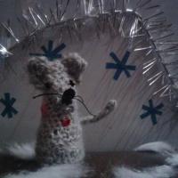 Мастер-класс вязанной пальчиковой игрушки из шерстяных ниток «Мышонок»