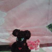 Мастер-класс по изготовлению вязаной пальчиковой игрушки из шерстяных ниток «Медведь»
