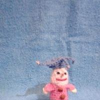 Мастер-класс вязаной пальчиковой игрушки из шерстяных ниток «Петрушка»
