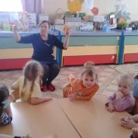 Фотоотчёт о занятии по ознакомлению детей с окружающим миром во второй младшей группе «Знакомство с профессией врача»