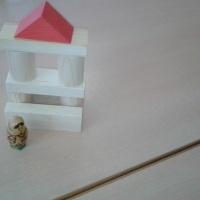 Фотоотчёт о занятии по конструированию во второй младшей группе «Домик для матрёшки»