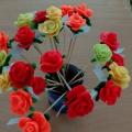 Мастер-класс «Розы».