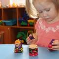 Игры по развитию мышления для детей раннего возраста. Часть первая. Игры с матрёшкой