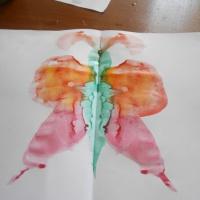 Конспект занятия по изобразительному искусству «Рисуем бабочку» в подготовительной группе в технике монотипия.