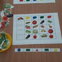 Дидактическая игра с элементами ОТСМ-ртв-ТРИЗ технологии «Приготовь салат»