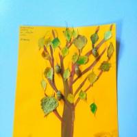 Коллективная работа по аппликации в старшей группе «Чудо-дерево»