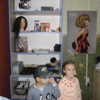 Фотоотчёт. Экскурсия в парикмахерскую