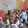 Развлечение «Весна идет, весне дорогу!» для детей младше-средней группы