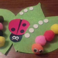 Дидактическая игра «Веселые насекомые». Считаем от 1 до 5