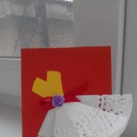 Мастер-класс по изготовлению поздравительной открытки к празднику «День матери»