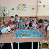 Долгосрочный проект по ознакомлению с окружающим миром «Вокруг света за 90 дней» в старшей группе детского сада
