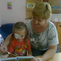 Книга в жизни дошкольника с нарушенным зрением