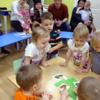 Родители активные участники образовательного процесса. Первое родительское собрание в первой младшей группе. Фотоотчёт.