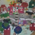 Конспект занятия по познавательному и художественно-эстетическому развитию для закрепления знаний о родном городе