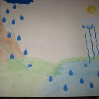 Моделируем круговорот воды в природе.