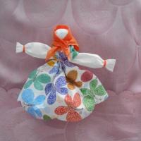 Мастер-класс «Кукла— Масленица» из салфеток