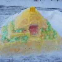 Занятие по двигательной активности детей «Снежные постройки»