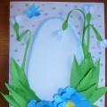 Открытка «Пасхальная весна» из бумаги своими руками. Мастер-класс с пошаговыми фото
