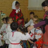 Методическая разработка «Приобщение детей дошкольного возраста к русской народной культуре»