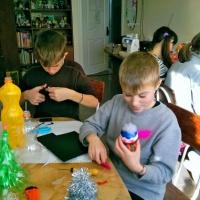 Фотоотчёт «Новогодние поделки к ярмарке»